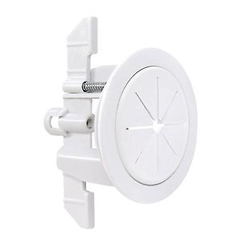 Midlite Universal Cable Passthru Levy Speedport Valkoinen 2Inch reikä