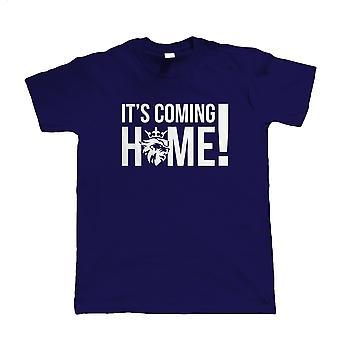 It's Coming Home! Mens T Shirt - England European Football Cup Shirt Gift