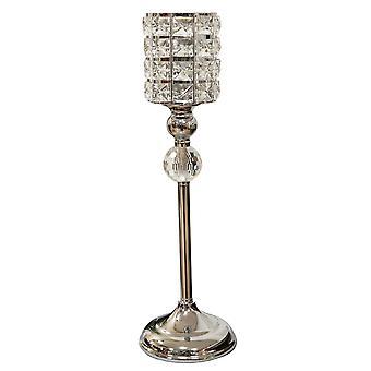 מחזיק נרות בסגנון גביע קריסטל HESTIA Diamante - גדול