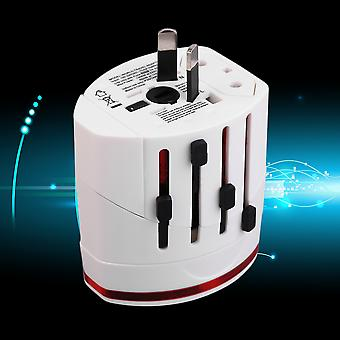 Durable Universal Adapter Conversion Socket Dual Usb Charging Port Charger