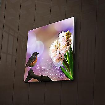 2828? ACT-48 Mehrfarbige dekorative LED beleuchtete Leinwandmalerei
