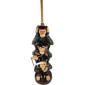 Resin Monkeys Toilet Roll Holder 82cm