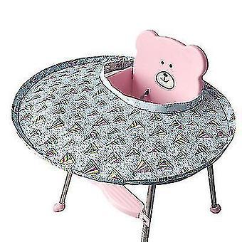 Детское кресло Placemat, Герметичный нагрудник, Складной, Помощь ребенку Самостоятельное кормление (паром)