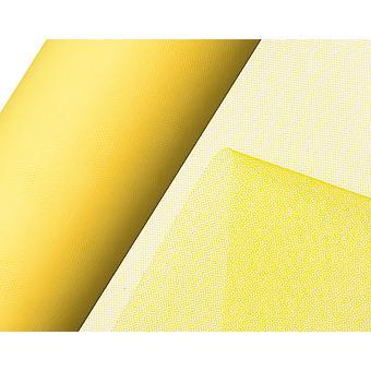 SIDSTE PAR - 25m Gul 15cm Net Tulle på Roll for Crafts