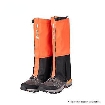 Unisex leg covers legging gaiter climbing camping hiking ski boot travel shoe snow gaiters legs protection for snowsh