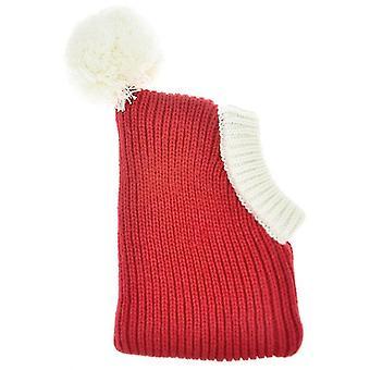 Pet Autumn & Winter Woolen Christmas Hat, Size: XS