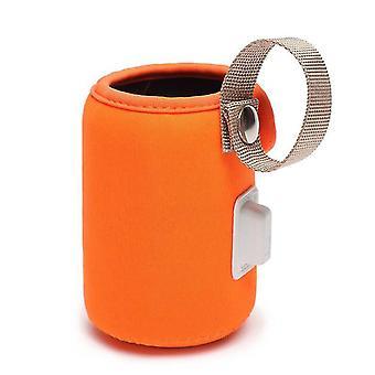 Usb Milk Warmer, Portable baby bottle warmer bag,  Warmer Heater Bag - orange