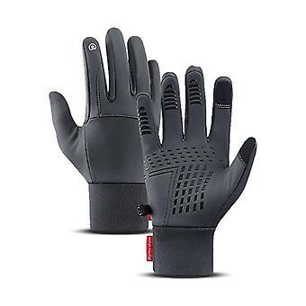 Teplé rukavice odolné voči vetru Dotyková obrazovka Vodňavý protišmykový.