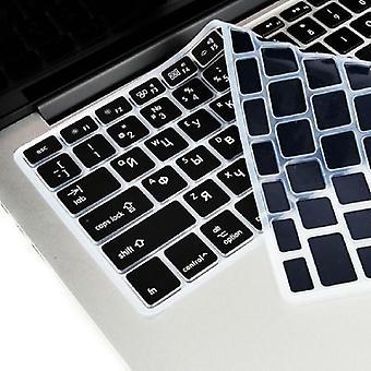 2шт клавиатура протекторы клавиатура кожа клавиатуры для macbook водонепроницаемая клавиатура пленка протектор