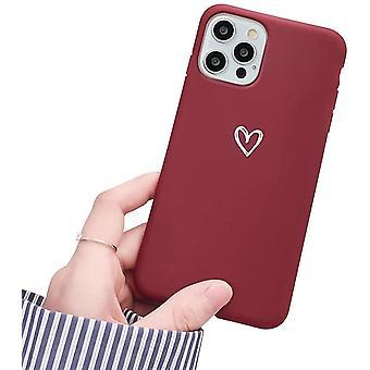Iphone 12 Pro Heart Pattern Case