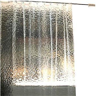 3D الماء مكعب دش ستارة إيفا المرحاض الحمام ستارة تقسيم ستارة للماء وبروفة العفن