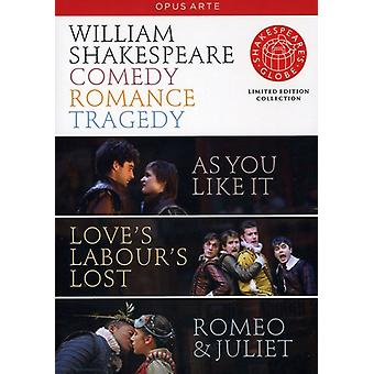 Comedy Tragedy Romance [DVD] USA import