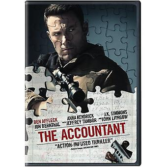 Accountant [DVD] USA import