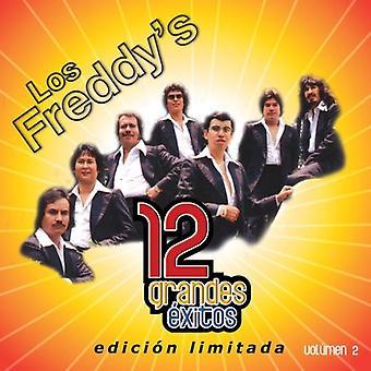 Los Freddy's - Los Freddy's: Vol. 2-12 Grandes Exitos [CD] USA import