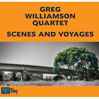 Greg Williamson Quartet - Scenes & Voyages [CD] USA import