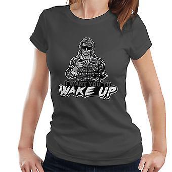 Ik wil u van Wake Up ze leven vrouwen T-Shirt