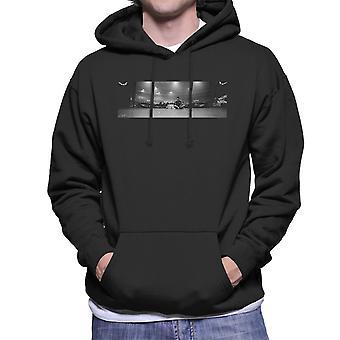 Liam Gallagher keidas vaiheen panoraama miesten hupullinen pusero