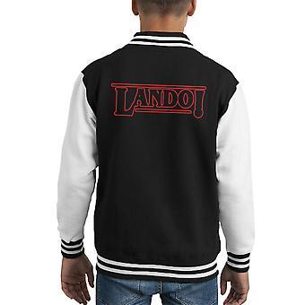Stranger Things Lando Kid's Varsity Jacket
