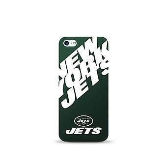 Mizco Sports NFL Oversized Snapback TPU Case for Apple iPhone 5 / 5S / SE (New York Jets)