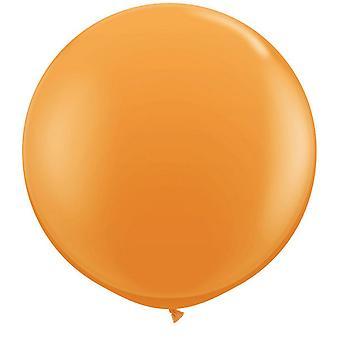 Qualatex 16 tums runda vanlig Latex ballonger (50 Pack)