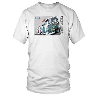 Ich liebe Camper Vans VW Herren T-Shirt