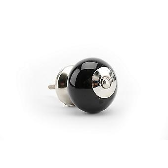 CGB Giftware Black And Silver Drawer Handle