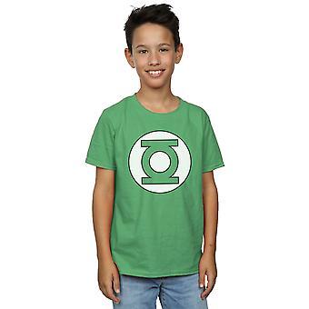 DC בנים קומיקס ירוק לוגו חולצת טריקו