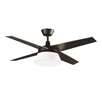 Lysdioder-C4 design loft fan Banus 132 cm/52
