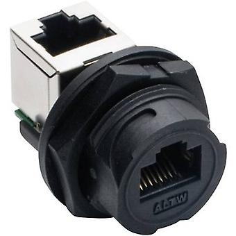 Amphenol LTW 2611-0402-01 Sensor/actuator built-in connector Socket, built-in, Socket, right angle No. of pins (RJ): 8P8C 1 pc(s)