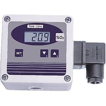 Greisinger Oxy 3690 syre detektor 0-100% extern sensor, syre sensor, termometer
