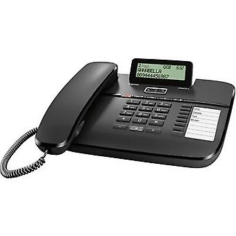 Gigaset DA810A Kablolu analog Answerphone, Hands-free Matt Black