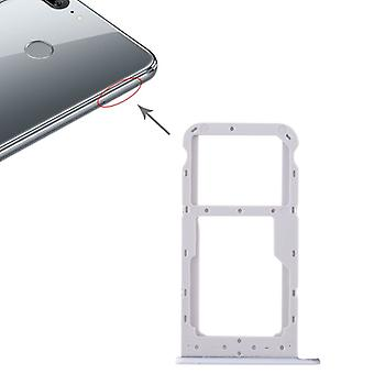 For Huawei honor 9 Lite cards Halter SIM tray slide holder white replacement new