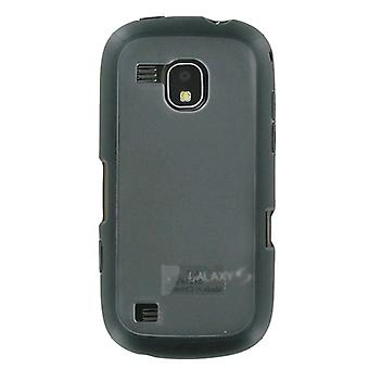 OEM Samsung Continuum Galaxy S SCH-i400 Frosted Dual Case (Black) (Bulk Packaging)