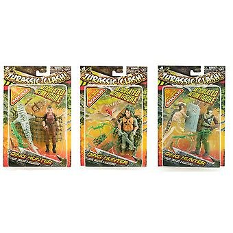 Jurassic Clash Dino Hunter Sortiment (One Supplied)