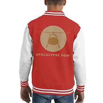 Apocalypse Now Minimal Kid's Varsity Jacket