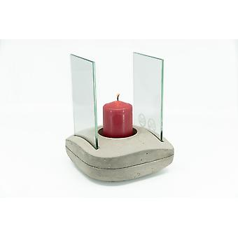 Concrete lamp oil burner fragrance aroma lamp candle warmer