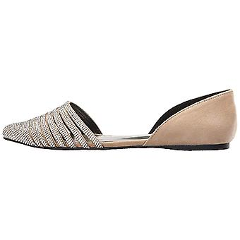 LFL by Lust for Life Womens L-Hypnotic Fabric Pointed Toe Slide Flats