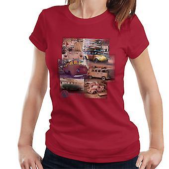Volkswagen Camper Beetle Collage Women's T-Shirt