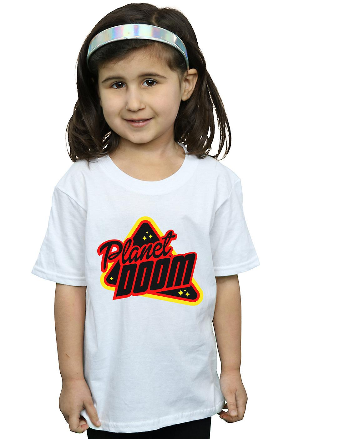 Ready Player One Girls Planet Doom Logo T-Shirt