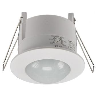 Coprire - rilevatore di movimento integrato 360° LED, rilevamento di 6 m, bianco