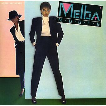 Melba Moore - Never Say Never [CD] USA import