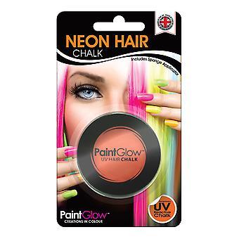 NEON UV HAIR CHALK INTENSE ORANGE