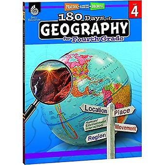 180 Days of Geography for Fourth Grade (Grade 4): Practice, Assess, Diagnose (180 Days of Practice)