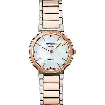 Bruno S_hnle Quartz analog watch with stainless steel band 17-63108-992