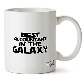 Hippowarehouse Best Accountant In The Galaxy Printed Mug Cup Ceramic 10oz