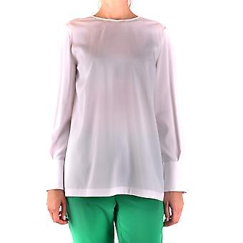 Brunello Cucinelli Ezbc002053 Women's White Silk Sweater