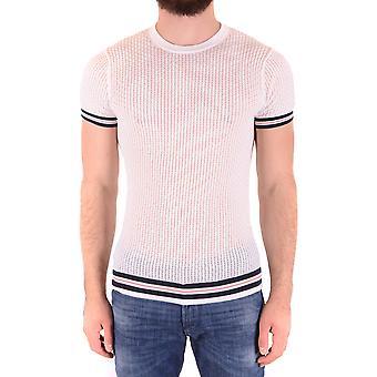 Daniele Alessandrini Ezbc107211 Männer's weiße Baumwolle T-shirt