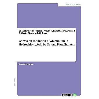 Hemmung der Korrosion von Aluminium in Salzsäure durch natürlichen pflanzlichen Extrakten von Dave & Pragnesh N.
