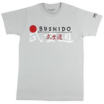 UFC Mens Pride Fist T-Shirt -Silver