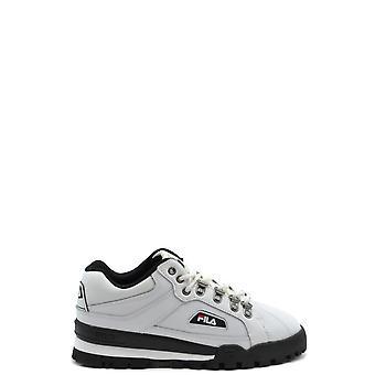 Fila Ezbc209003 Women's White Leather Sneakers